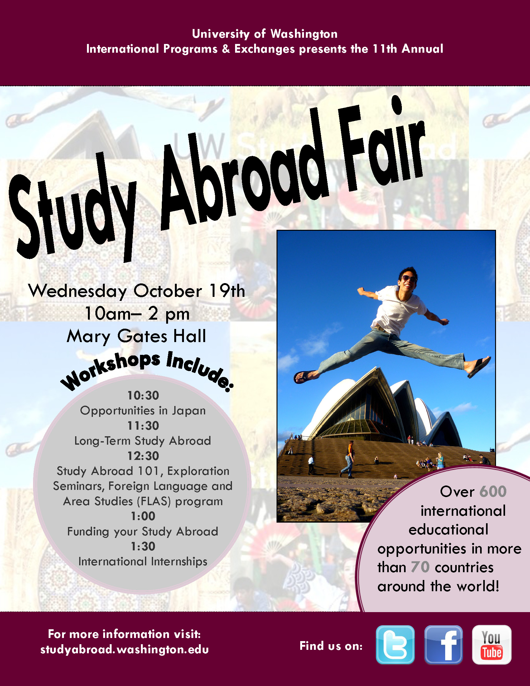 Not your ordinary study abroad